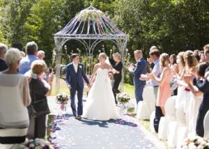 Babs bij huwelijk Tespelduyn Noordwijk