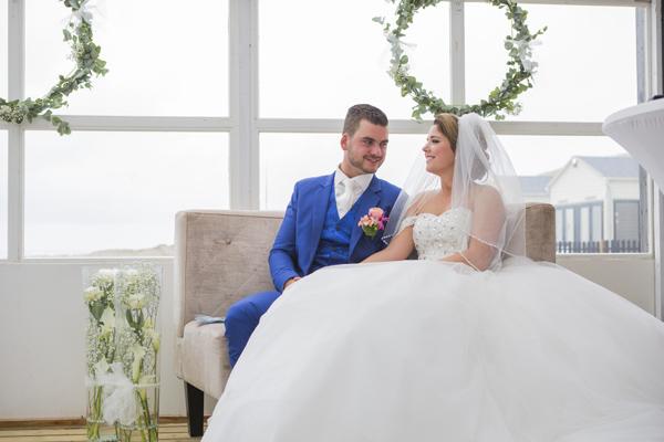 Babs bij het huwelijk van Daniël & Sharon