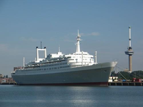 Trouwen op de SS Rotterdam