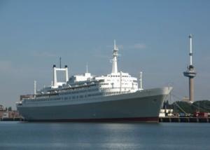 Trouwen op SS Rotterdam