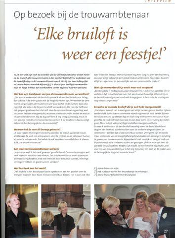 2010606 Artikel Elke Bruiloft Weer Een Feestje