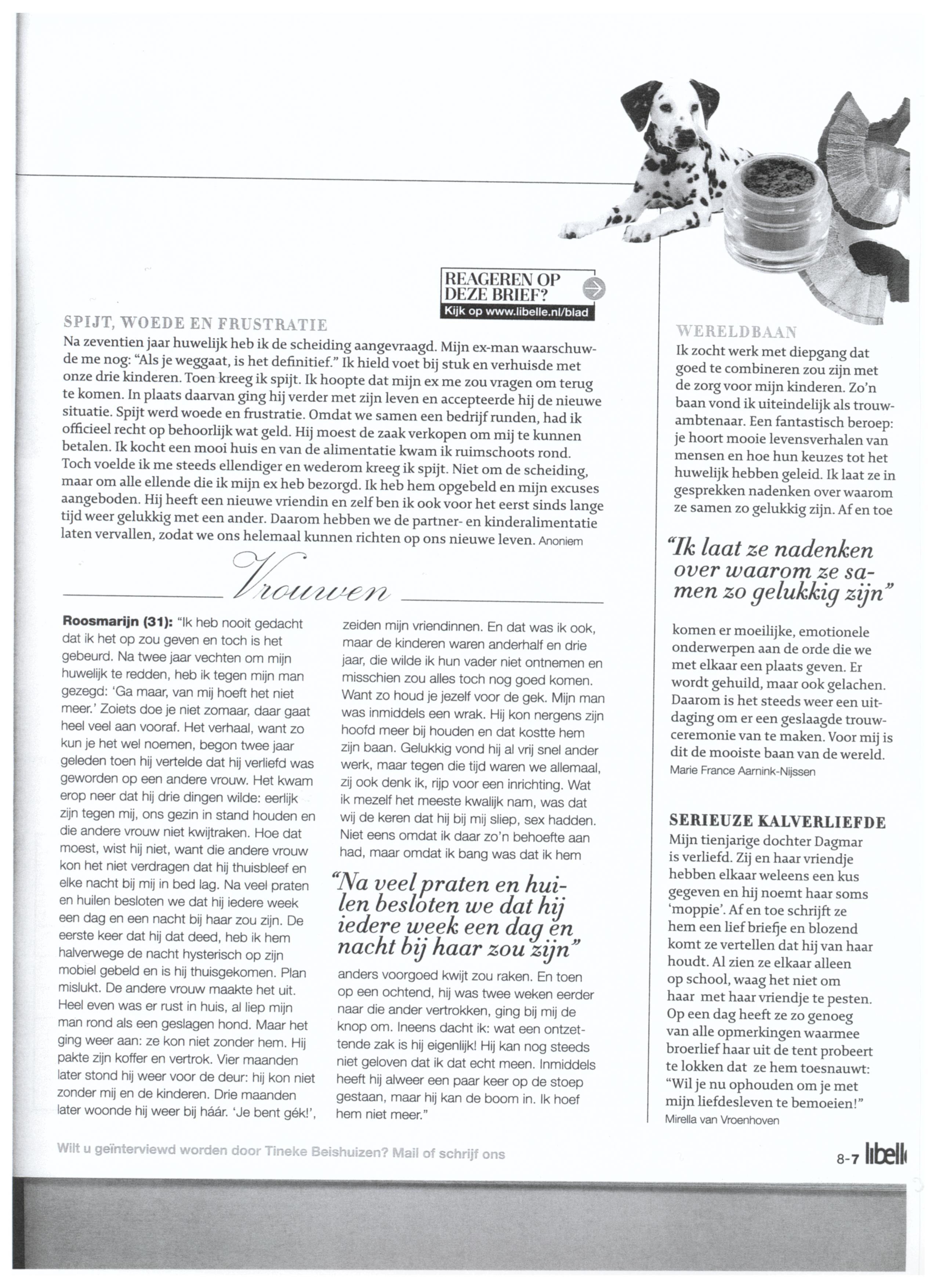 20120222 Interview Met BABS Trouwambtenaar In Libelle