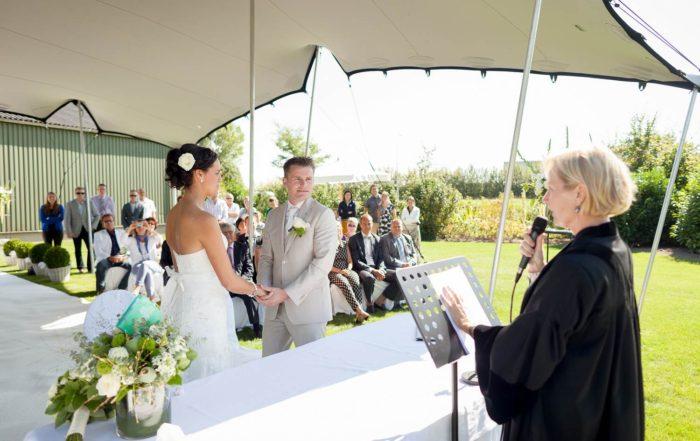 20120907 BABS Buitengewoon Trouwambtenaar Bij Het Huwelijk Van John & Merlin In Westmaas
