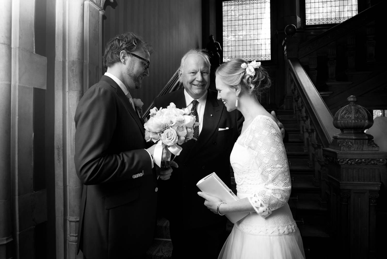 Huwelijk in Santpoort