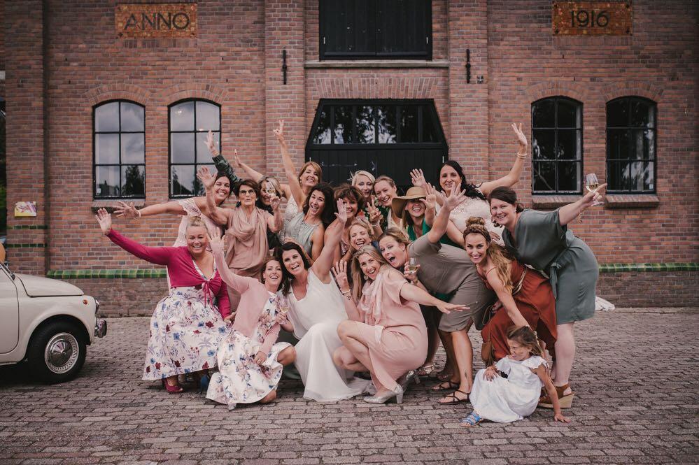 Fotoshoot vriendinnen Huwelijk Leiderdorp