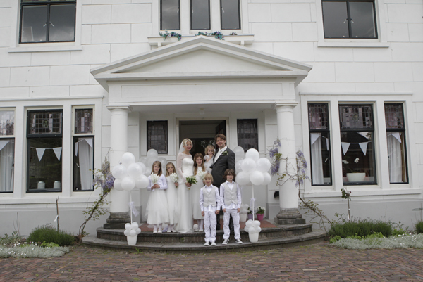 Babs bij huwelijk Martine & Harm Olmenhorst Lisserbroek
