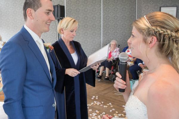 Babs in Herberg Welgelegen Valkenburg-aug 2017- Huwelijk Marissa & Jelle