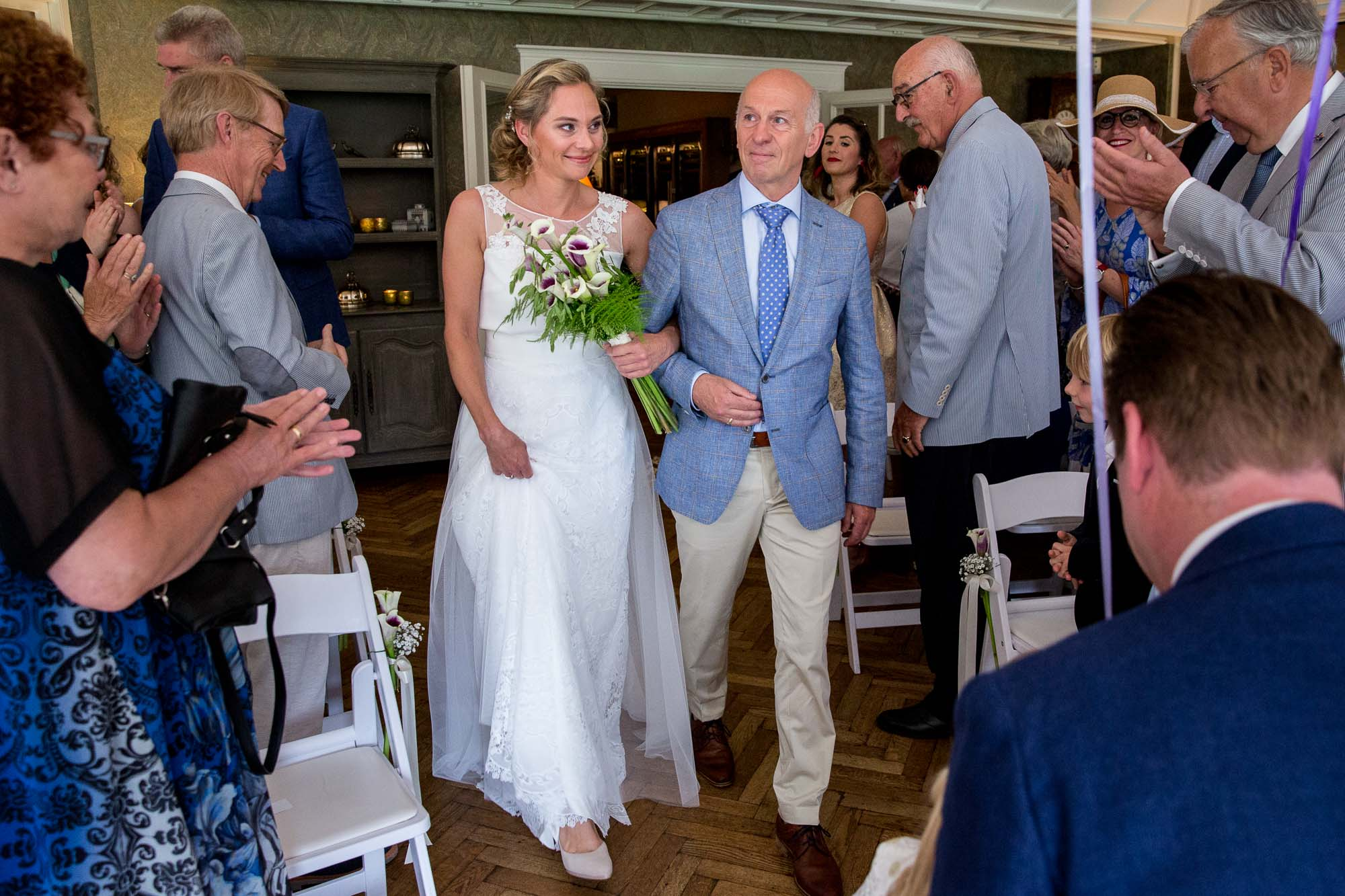 Weggeven bruid door vader