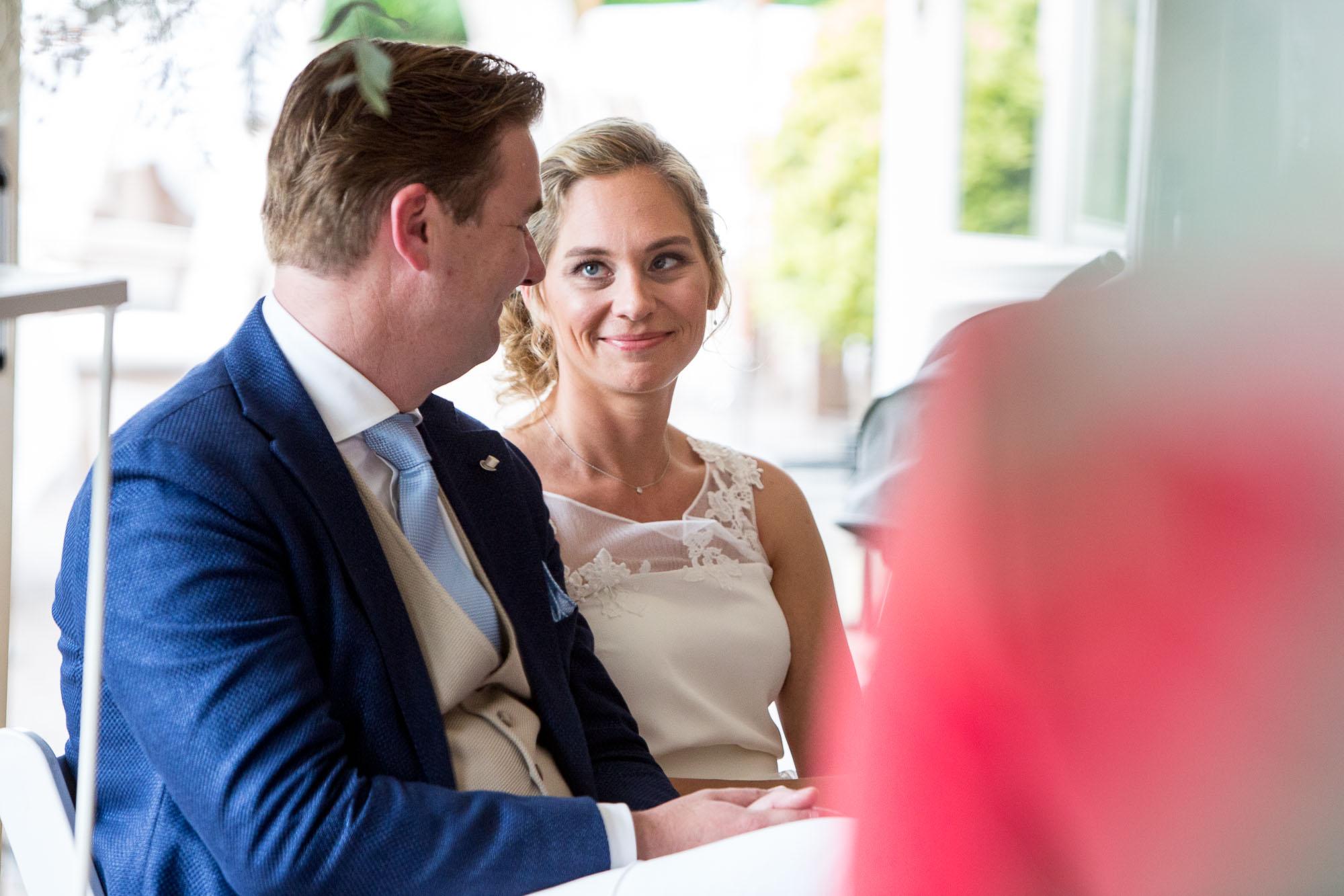 Bruiloft in Leuvenum