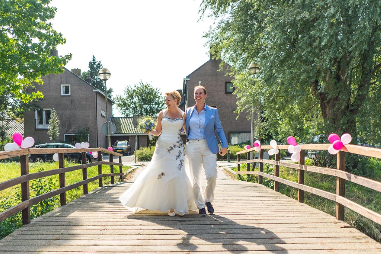 Op weg naar trouwzaal