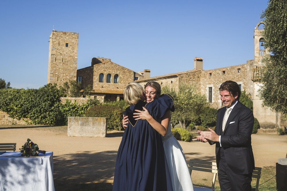 Castle marriage Spain
