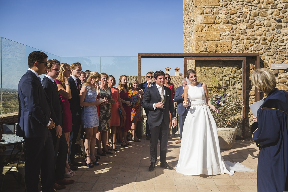 Getting married under the Spanish sun